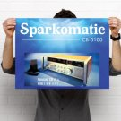 "Sparkomatic CB-5100 Vintage CB Radio Poster 18"" x 24"""