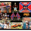 The Dukes of Hazzard Collage Mouse Pad