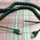 2 NEW Astatic EchoMax 2000 Coiled Microphone Cords - Unwired
