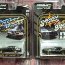 Greenlight 1977 & 1980 Smokey and the Bandit Trans Am cars 1:64