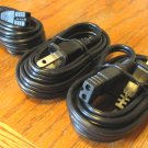 3 NEW 6 ft 2 prong AC Power Cords for Realistic Navaho TRC-457, Midland 78-999, and more CB Radios