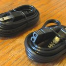 2 NEW 6 ft 2 prong AC Power Cords for Realistic Navaho TRC-457, Midland 78-999, and more CB Radios
