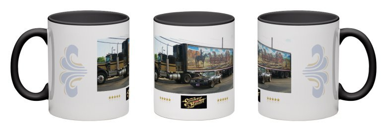 NEW Smokey and the Bandit Coffee Mug - Trans Am - Kenworth