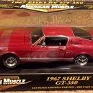 ERTL American Muscle 1967 Shelby GT-350 1/18 Diecast