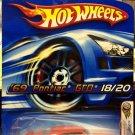 Hot Wheels Realistix Series '69 Pontiac GTO - ORANGE