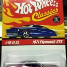 Hot Wheels Classics 1971 Plymouth GTX *chrome* color