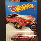 Hot Wheels Chevrolet 1976 Corvette - RED