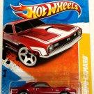'68 Copo Camaro #25 RED * 2011 Hot Wheels *