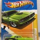 '71 Hemi Cuda #48 * Green * 2012 Hot Wheels *