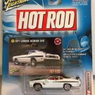 1971 Dodge Demon 340 WHITE * Johnny Lightning Hot Rod Magazine *