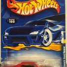 1970 Plymouth Road Runner #100 * RED * 2001 Hot Wheels *