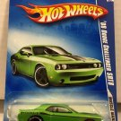 '08 Dodge Challenger SRT8 #86 * Green * 2009 Hot Wheels *