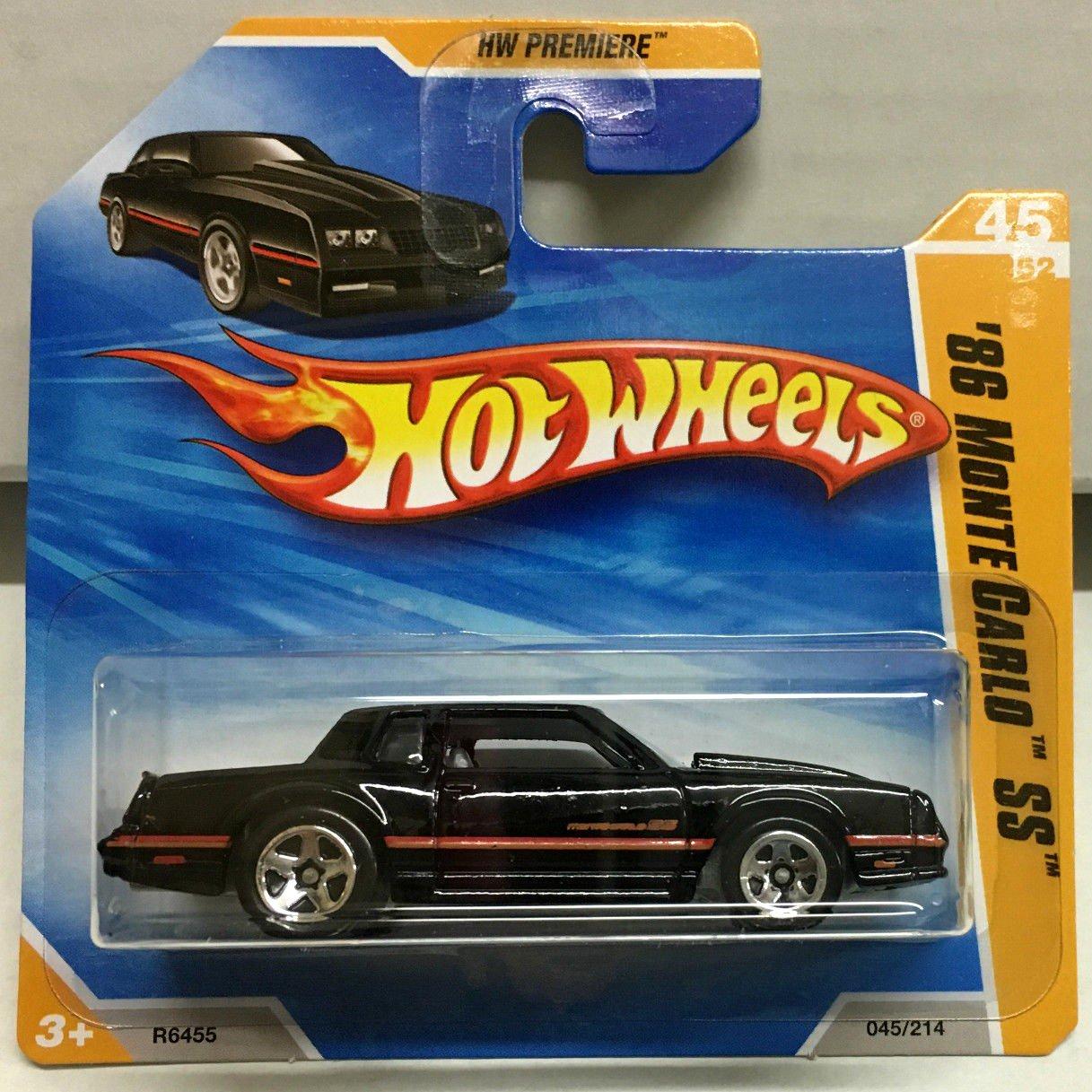 39 86 monte carlo ss 45 black 2010 hot wheels. Black Bedroom Furniture Sets. Home Design Ideas