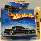 '86 Monte Carlo SS #45 * BLACK * 2010 Hot Wheels *