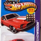 Hot Wheels 2013 HW Showroom '68 SHELBY GT500 RED Factory Sealed