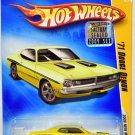 Hot Wheels 2009 NEW MODELS '71 Dodge Demon #13/42 YELLOW Factory Sealed