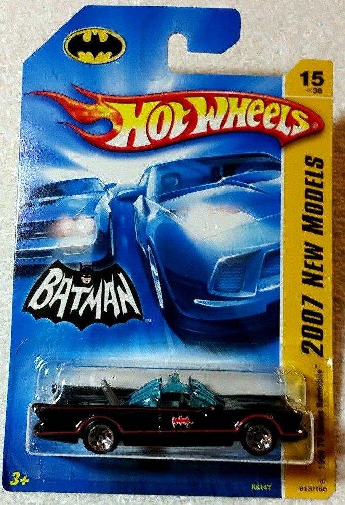 2007 Hot Wheels NEW MODELS 1966 TV Batmobile