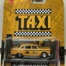 Taxi * '74 Checker Taxi Cab Yellow * Hot Wheels Retro Entertainment*