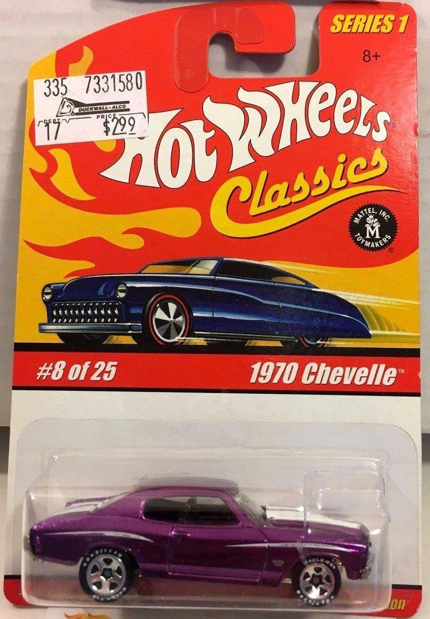 Hot Wheels Classics 1970 Chevelle #8 * PURPLE *