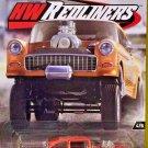 "2017 Hot Wheels Car Culture ""Redliners"" 4/5 '55 CHEVY BEL AIR GASSER Orange"