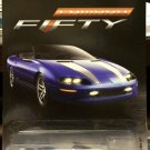 Hot Wheels Fifty Years Anniversary Edition '95 Camaro Convertible - BLUE