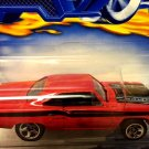 Hot Wheels 1970 Plymouth Road Runner - RED - 2000 Release