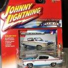 "Johnny Lightning 1970 AMC Rebel ""The Machine"" RED/WHITE/BLUE 2016"