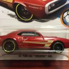 Hot Wheels 1967 Pontiac Firebird 400 - RED - 2015
