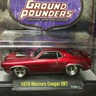 M2 Ground Pounders 1970 Mercury Cougar XR7 1:64 Diecast