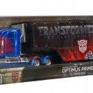 Jada Transformers 5 Optimus Prime Western Star 5700X XE and Trailer Set 1:64