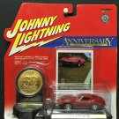 Johnny Lightning 30th Anniversary Edition 1970 Corvette w/COIN!
