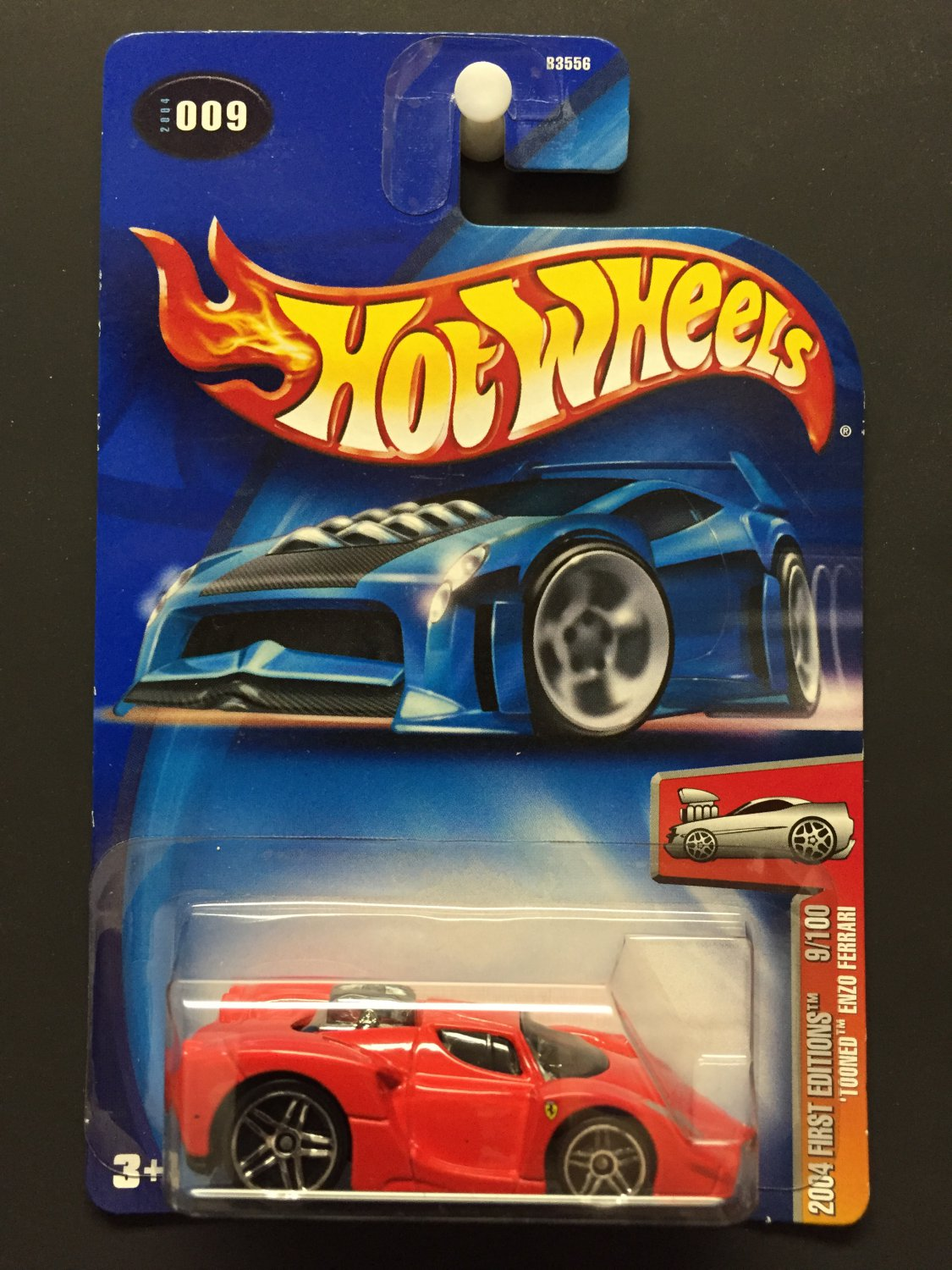 "Hot Wheels Enzo Ferrari ""Tooned"" 2004 First Editions"