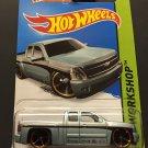 Hot Wheels Chevy Silverado (Gray) HW Workshop