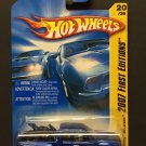 Hot Wheels Chevy Silverado (Blue) W/Motorbike 2007 First Editions