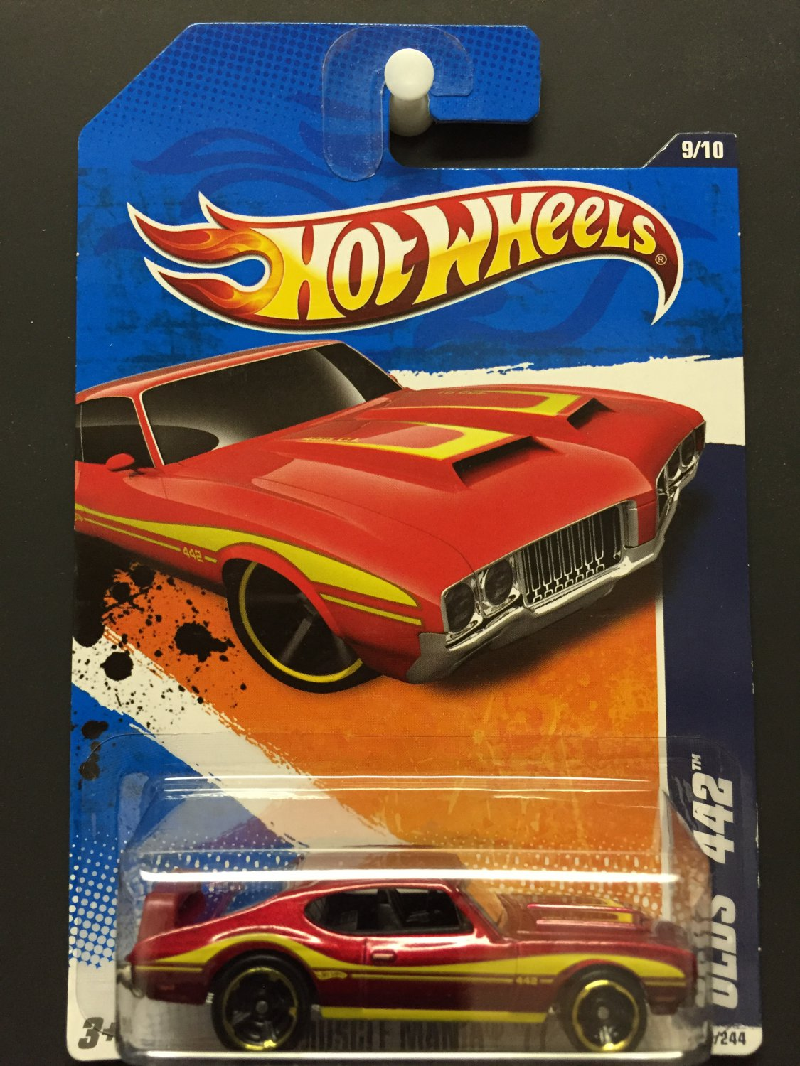 Hot Wheels Olds 442 - Muscle Mania '11