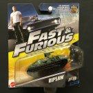 Mattel Fast & Furious F8 Ripsaw 22/32 - 2016
