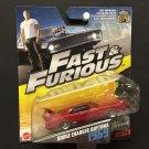 Mattel Fast & Furious 6 Dodge Charger Daytona 1969 29/32 - 2016