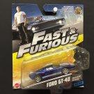Mattel Fast & Furious Fast Five Ford GT-40 32/32 - 2016