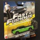 Mattel Fast & Furious 7 Dodge Challenger SRT8 Z011 5/32 - 2016