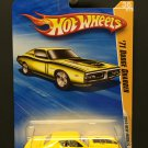 Hot Wheels '71 Dodge Charger 2010 New Models - Yellow