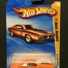 Hot Wheels '71 Dodge Charger - 2010 New Models - Orange