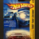 Hot Wheels Buick Grand National - Burgundy - 2007 First Editions