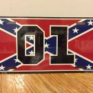 The Dukes of Hazzard General Lee 01 Licence Plate