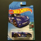 "2018 Hot Wheels C6 Corvette - BLUE - ""Tooned"" 3/5"