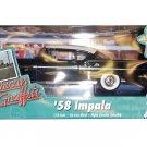 ERTL American Muscle - American Graffiti '58 Impala - BLACK - 1/18 DieCast #36604