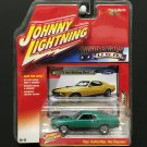 Johnny Lightning Muscle Cars USA 1969 Ford Mustang Mach 1 - GREEN - 2018