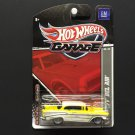 Hot Wheels Garage '57 Chevy Bel Air Real Riders Metal