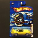 Hot Wheels '70 Plymouth Superbird 1/38 - SOLID YELLOW - 2006 First Editions
