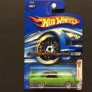 Hot Wheels '70 Plymouth Superbird 1/38 - GREEN - 2006 First Editions