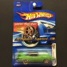 Hot Wheels '70 Plymouth Superbird Faster Than Ever 1/38 - GREEN - 2006 First Editions